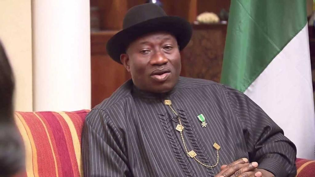 Fmr. President Jonathan Visits Governor Godwin