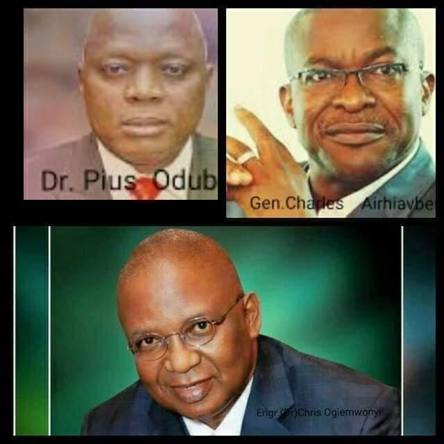 Edo APC nomination: Odubu, Ogiemwonyi,