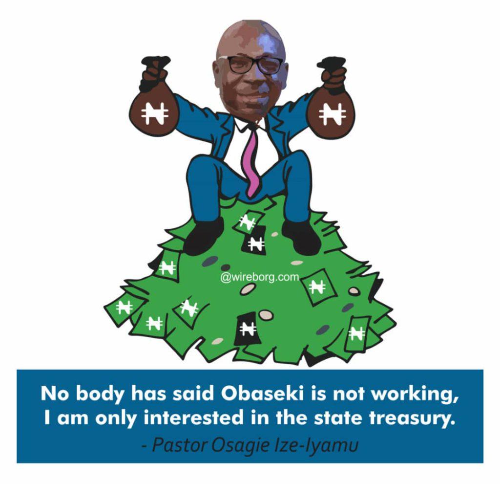Stop Attacks on Gov Obaseki, Ize-Iyamu Tells