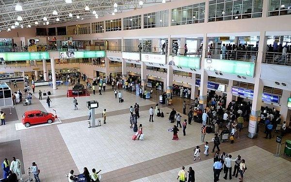 Lagos, Abuja, Port Harcourt, Kano airports to