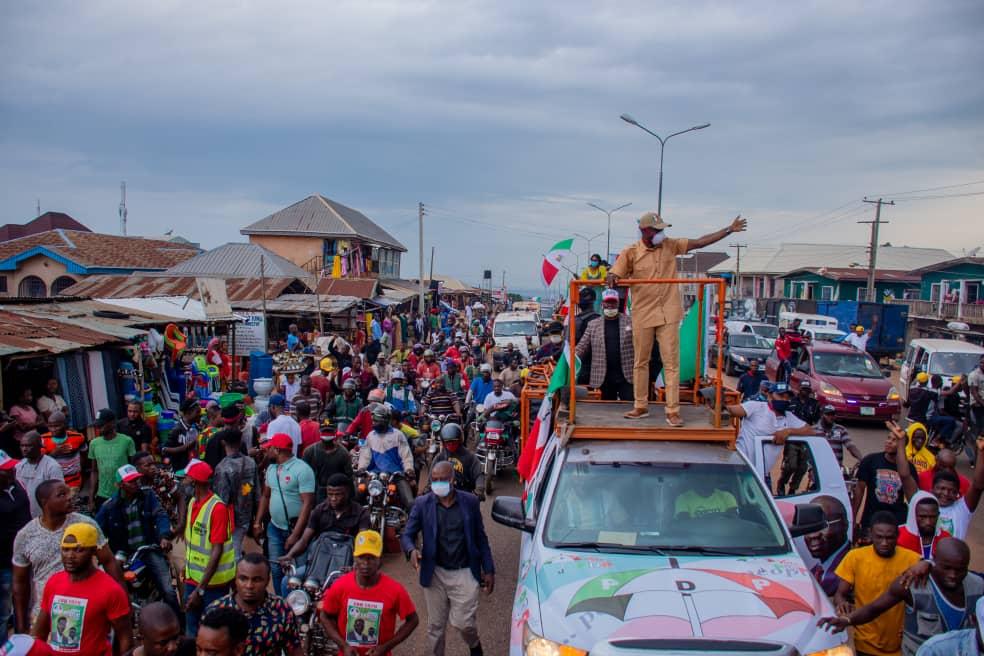 Edo Deputy Gov, Shaibu tours Benin, Ekpoma,,